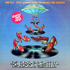 GLASS FAMILY Mr. DJ You Know How To Make Me Dance (US Clear Red Vinyl Promo LP)