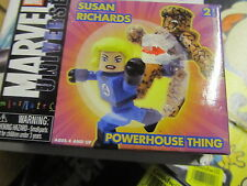 Marvel Universe Minimates Powerhouse Thing & Susan Richards Mint in Box
