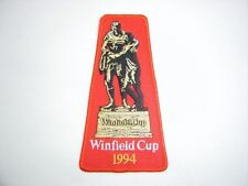 WINFIELD CUP 1994 GRAND FINAL PATCH - CANBERRA RAIDERS CANTERBURY BULLDOG JERSEY