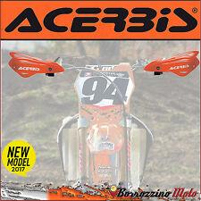 COPPIA PARAMANI MANUBRIO ACERBIS X-OPEN ARANCIONE KTM MOTOCROSS ENDURO OFF ROAD