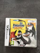 JEU NINTENDO DS  3DS : LES PINGOUINS DE MADAGASCAR   F24