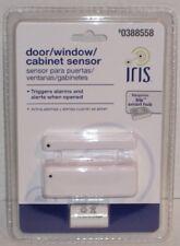 Iris Door/Window/Cabinet Sensor - Item# 0388558 - Requires Iris Smart Hub - New