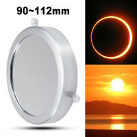Silver 90~112 mm Solar Filter Baader Film Metal Cover For Astronomical