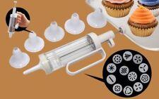 Nuevo 19 Pieza Cookie Galleta Cupcake Pastel Decoración Set Kit jeringa Boquillas Nuevo Y En Caja