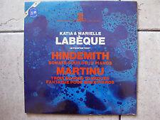 KATIA & MARIELLE LABEQUE Hindemith/Martinu - LP