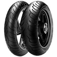 Coppia Pneumatici Pirelli Diablo Strada 120/70 17 180/55 17 moto guzzi griso 850