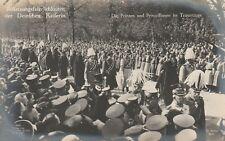 AK Beisetzung der Deutschen Kaiserin Prinzen Prinzessinnen im Trauerzug 1921