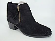 M&S Sued Ankle Boot's Black Size UK 6 EU 39 NH091 AD 04
