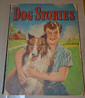Vintage 1944 Dog Stories Paperback Children's Book Whitman Publishing #708