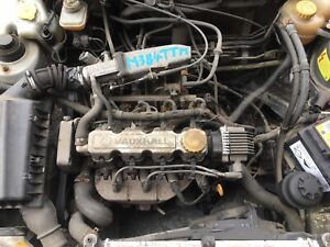 VAUXHALL CORSA B ASTRA Mk3 NOVA 1.4 8V MPI PETROL ENGINE COMPLETE 1993-1999