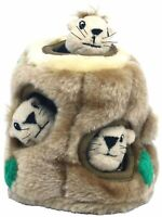 Outward Hound Hide-a-Squirrel Interactivce Plush Dog Puzzle Toy