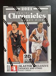 2021 Panini Chronicles Draft Picks Basketball Blaster Box New Sealed 20 Cards