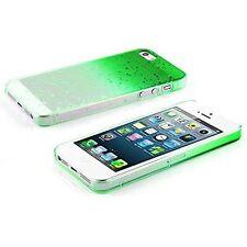 Housses et coques anti-chocs verte en plastique rigide pour téléphone mobile et assistant personnel (PDA)