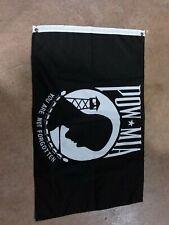 """Pow Mia Flag, 3'x22"""""""