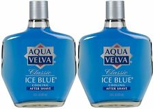 AQUA VELVA Classic Ice Blue Cooling Firms & Tones After Shave ( 2 pack)