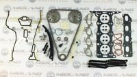 VAUXHALL MERIVA 1.4 16V Z14XEP TWINPORT HEAD GASKET SET BOLTS + TIMING CHAIN KIT