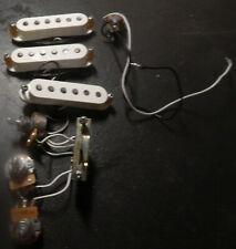Seymour Duncan SSL-5 set and full harness from a Washburn USA Silverado