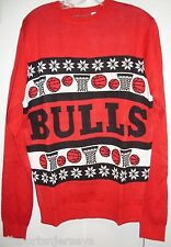 NBA NWT WORDMARK UGLY SWEATER - CHICAGO BULLS - X-LARGE