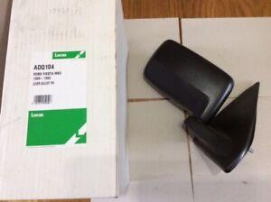ADQ104 LUCAS DOOR MIRROR FORD FIESTA MK3 1989-1993 LEVER ADJUST RH (OFFSIDE)