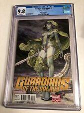 CGC 9.8 Guardians of the Galaxy #1 Milo Manara Variant Cover