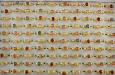 70pcs Women Lady's Cute Jewelry Wholesale Mixed Lots Fashion Resin Rings EH557