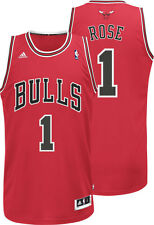 Derrick Rose #1 Chicago Bulls Adidas Men's Swingman Jersey RED
