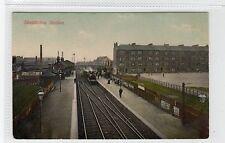 More details for shettleston railway station: glasgow postcard (c27929)