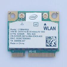Dell Alienware M14X Intel Centrino Wireless-N 1000 BGN 112BNHMW 0V830R Wifi Card