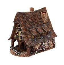 Keramik Teelichthaus Lichterhaus Teelichthalter Alte Schmiede 14 cm 40559