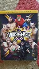 Wrestlemania XXX 30th Anniversary    3 dvd set