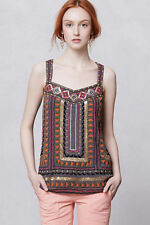 New Anthropologie NWT Lawan Sequin & embroidery Tank by Meadow Rue Size XS
