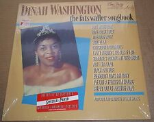 DINAH WASHINGTON The Fats Waller Songbook - EmArcy 818 930-1 SEALED