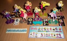 BARBIE COMPLETE SET WITH ALL PAPERS KINDER SURPRISE 2016