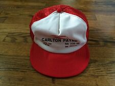 Vintage Wilson Carlton Payne Trucker Cap Hat Snapback Corpus Christi Texas