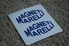 Magneti Marelli Race Car F1 Ferrari Racing Rally Decal Stickers Blue 50mm
