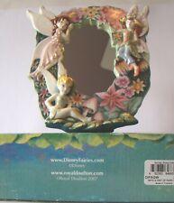 "Disney Fairies ""With A Hint Of Fairy Dust"" 2007 Mirror Frame 7""x8"" Royal Doulton"