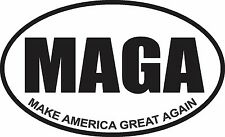 MAKE AMERICA GREAT AGAIN MAGA TRUMP DECAL WINDOW BUMPER STICKER POLITICAL