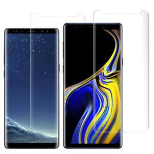 Poetic Premium Tempered Glass Screen Protector For Galaxy Note 9 / 8 Cover Clear