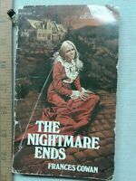 The Nightmare Ends (Frances Cowan - 1970) Ace paperback Gothic