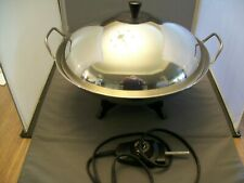 Farberware Model 303 Stainless Steel Electric Wok Skillet With A lId