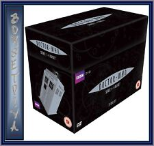 DOCTOR WHO COMPLETE SERIES SEASONS 1 2 3 4  DVD BOX SET *BRAND NEW* R4