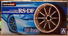 Aoshima 053287 Felgen Advan Racing RS-DF 19 Zoll inkl. Reifen 1:24 #33