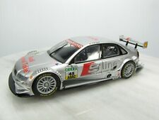 AUDI A4 DTM Slot Car CARRERA 1/32 - #45 Silver - SLINE BOSCH SHELL GAS - Used
