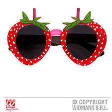 Nouveau Widmann fraise lunettes pour nourriture fruit accessoire robe fantaisie