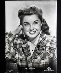 esther williams cartolina bellezze al bagno postcard vintage 60 american actress