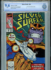 Silver Surfer #34 1990 Marvel Comics CBCS 9.6 NM+ Thanos Returns to Life