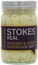Stokes Mustard And Honey Mayonnaise 360G (Pack Of 2)