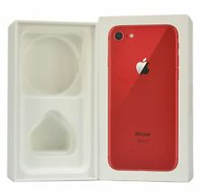 Genuine Original iPhone 8 (PRODUCT) RED 64GB EMPTY BOX ONLY Retail Packaging
