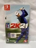 PGA Tour 2K21 For Nintendo Switch - NEW / Sealed