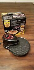 DUAL ELEMENT Presto Pizzazz Plus Revolving Rotating Pizza Cookie Baker Cooker